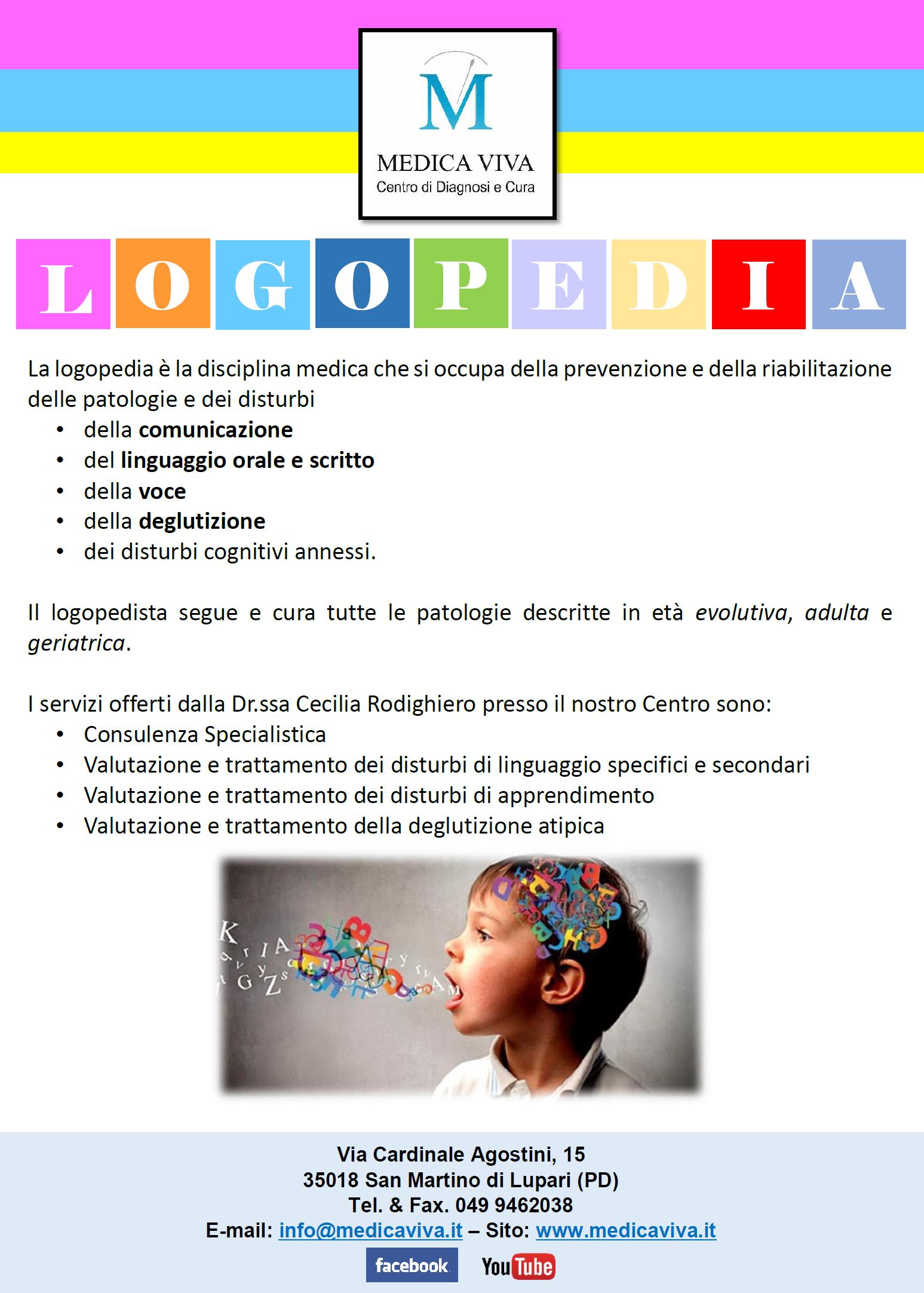 Cos'è la Logopedia