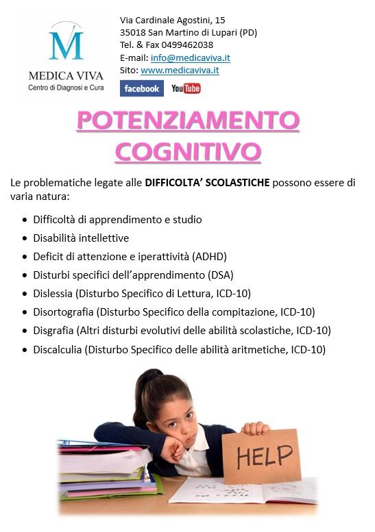 potenziamento cognitivo a punti