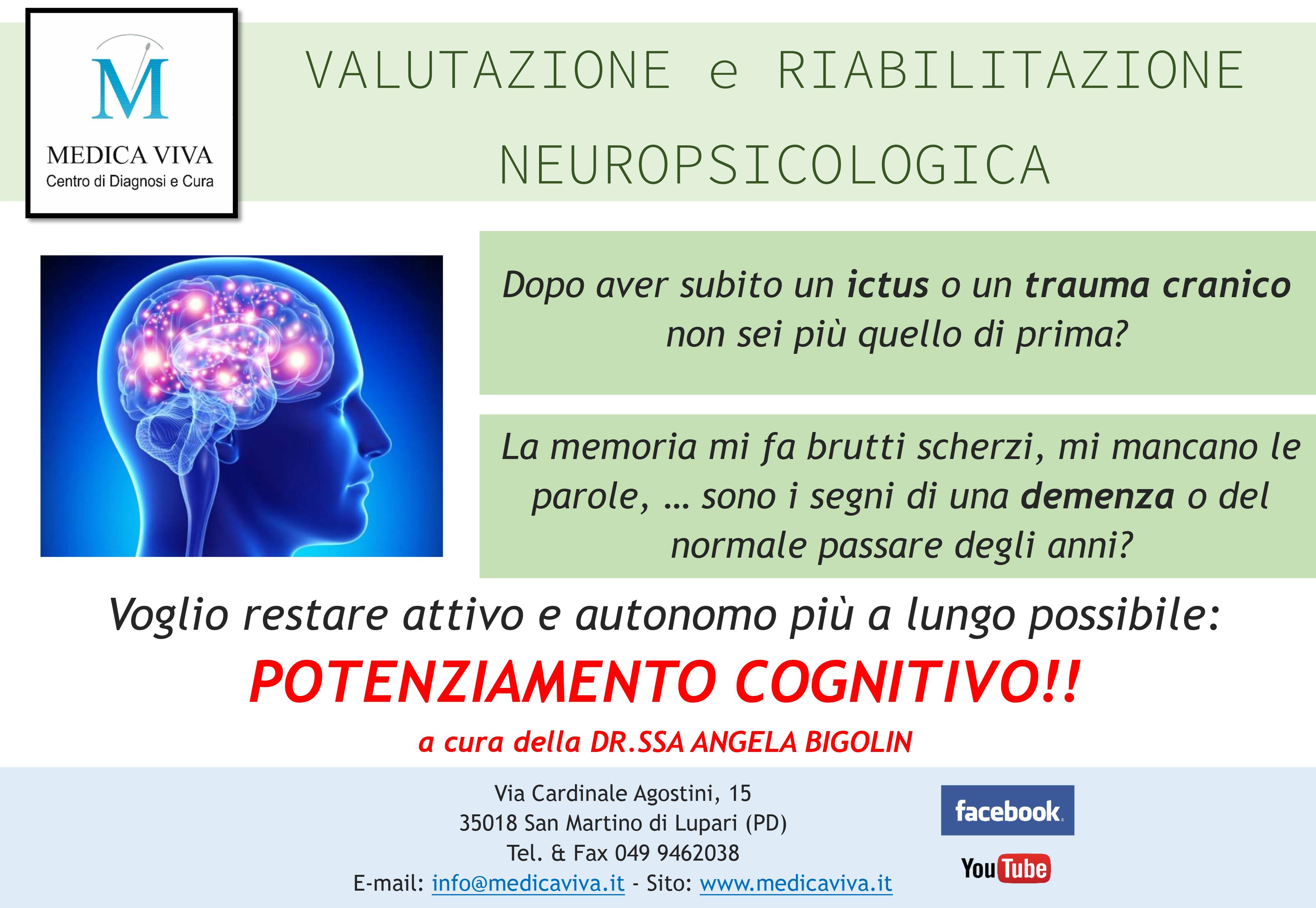 valutazione e riabilitazione neuropsicologica