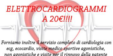 Servizio completo di Cardiologia